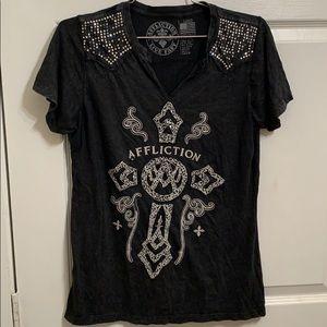 Affliction Shirt.